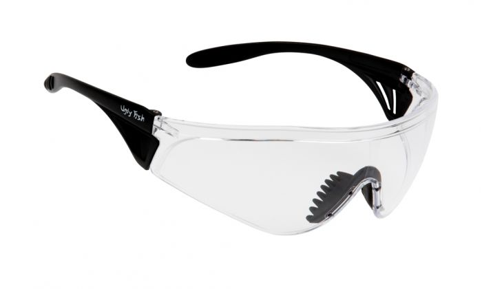UGLY FISH FLARE WITH VENTED ARMS RS5959-V MATT BLACK FRAME CLEAR LENS