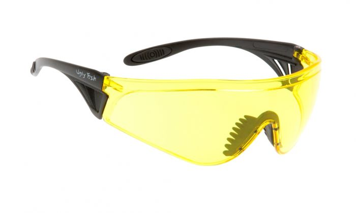 UGLY FISH FLARE WITH VENTED ARMS RS5959-V MATT BLACK FRAME YELLOW LENS