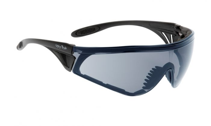 UGLY FISH FLARE WITH VENTED ARMS & POSITIVE SEAL RS5959-V-PS MATT BLACK FRAME INDOOR/OUTDOOR LENS