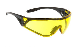UGLY FISH FLARE WITH VENTED ARMS & POSITIVE SEAL RS5959-V-PS MATT BLACK FRAME YELLOW LENS