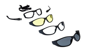 UGLY FISH ULTIMATE RS707 MULTI-LENS PACK SHINY BLACK FRAME