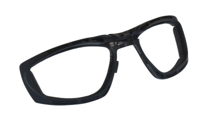 UGLY FISH ULTIMATE RS707 STANDARD SHINY BLACK FRAME SMOKE LENS