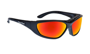 UGLY FISH UULTIMATE RS707 STANDARD MATT BLACK FRAME RED REVO LENS