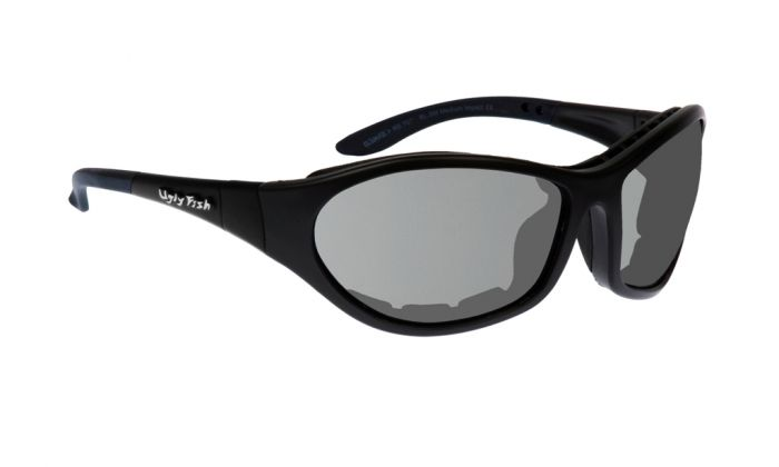UGLY FISH CRUIZE RS909 STANDARD SHINY BLACK FRAME SMOKE LENS