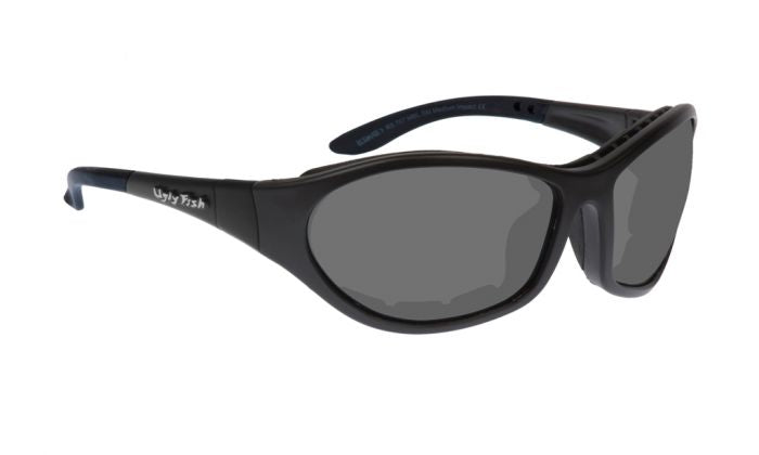 UGLY FISH CRUIZE RSP909 POLARISED MATT BLACK FRAME SMOKE LENS