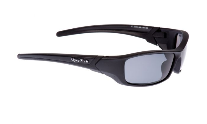 UGLY FISH RS5228 MATT BLACK FRAME SMOKE LENS