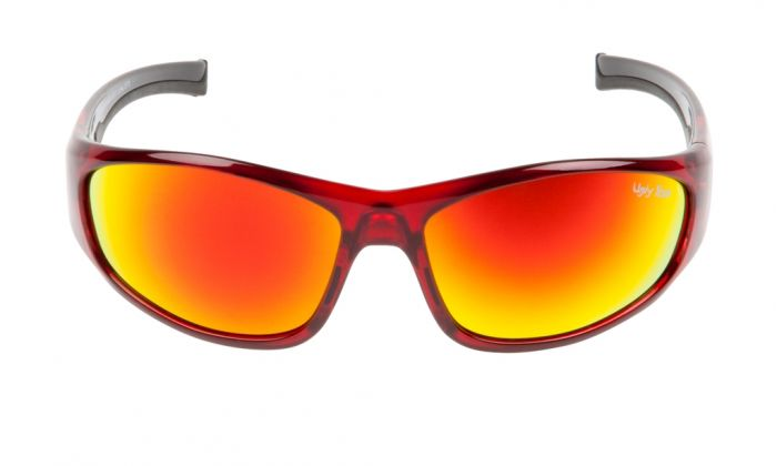 UGLY FISH TORPEDO RS2044 RED FRAME RED REVO LENS