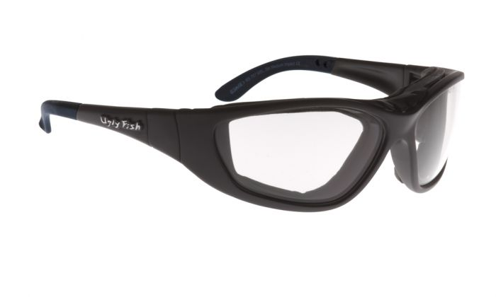 UGLY FISH ULTIMATE RS707 STANDARD MATT BLACK FRAME CLEAR LENS