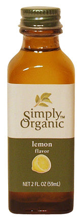 Lemon Flavor Organic 16 oz  by Frontier