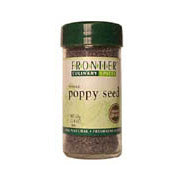 Poppy Seed Organic 3.81 oz  by Frontier