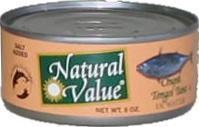 Tongol Tuna, Salted, 6 ozs. by Natural Value