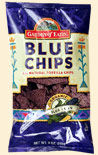 Party Size Blue Tortilla Chips, 12 x 16 ozs. by Garden of Eatin'