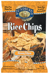 Rice Chips, Honey Dijon, 12 x 6 ozs. by Lundberg