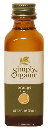 Orange Flavor Organic 16 oz  by Frontier