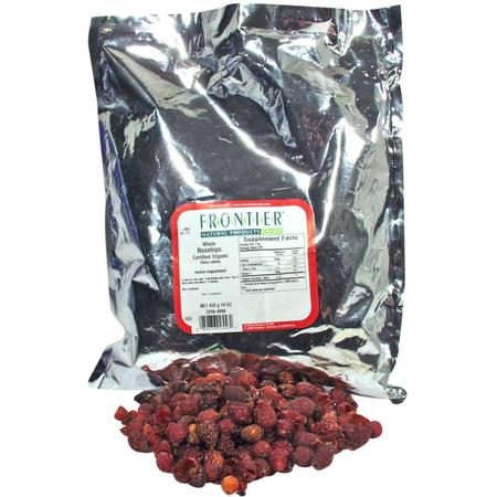 Rosehips, Whole, Organic, 1 lb by Frontier