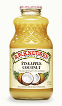 Pineapple Coconut, 24 x 8 ozs. by Knudsen