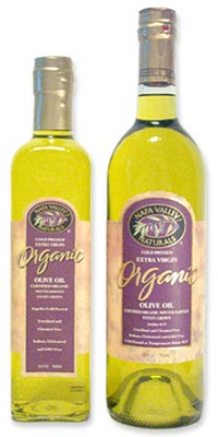 Organic Extra Virgin Olive Oil, 12 x 25.4 ozs. by Napa Valley