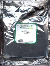 Pepper, White, Ground, 1 lb by Frontier
