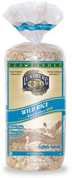 Rice Cakes, Wild, Salted, Organic, 12 x 8 ozs. by Lundberg