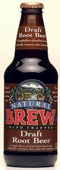 Draft Root Beer, 4 x 12 ozs. by Natural Brew