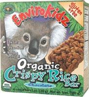 Crispy Rice Bar, Choc Organic, 6 ozs. by EnviroKidz
