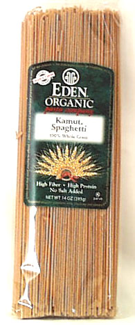 100% Kamut Spaghetti, Organic, 12 x 14 ozs. by Eden Foods
