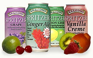 Strawberry Spritzer, 24 x 12 ozs. by Knudsen