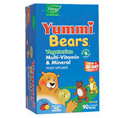 Yummi Bears, Multivitamin & Vegan, 60 ct by Hero Nutritionals