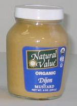 Dijon Mustard, Organic, 12 x 8 ozs. by Natural Value