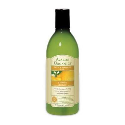 Avalon Lemon Bath Gel Organic - 12 ozs.