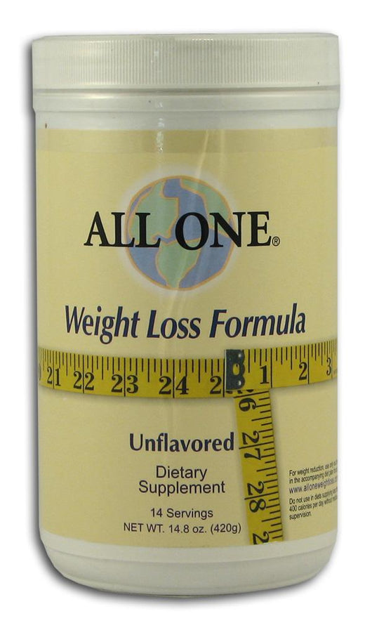 All-One Weight Loss Formula Unflavored - 14.8 ozs.
