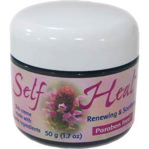 Flower Essence Services Self Heal Skin Creme - 4 ozs.