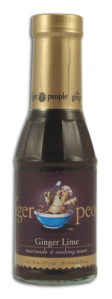 Ginger People Ginger Lime Marinade & Sauce - 12.7 ozs.