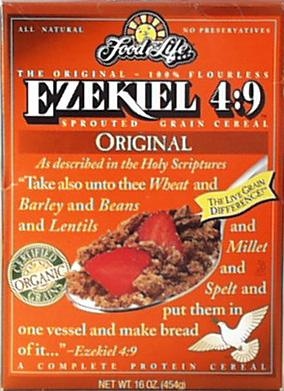 Food For Life Ezekiel Cereal Original Organic - 3 x 16 ozs.