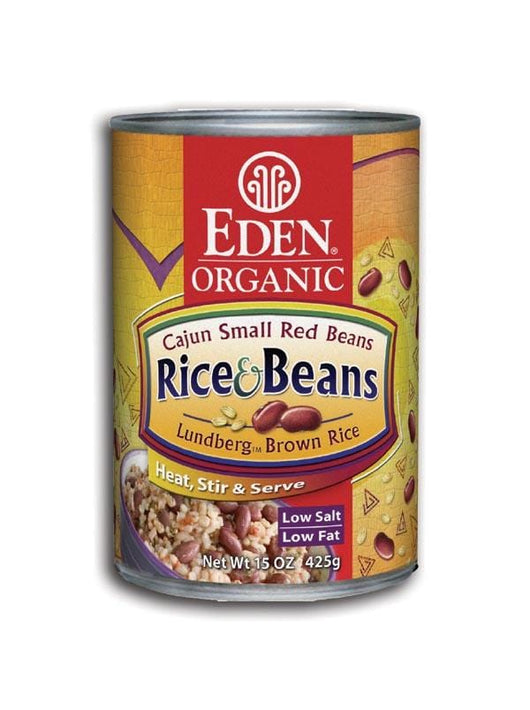 Eden Foods Rice and Cajun Small Red Beans Organic - 12 x 15 ozs.