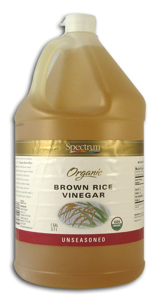 Spectrum Brown Rice Vinegar Organic - 1 gallon