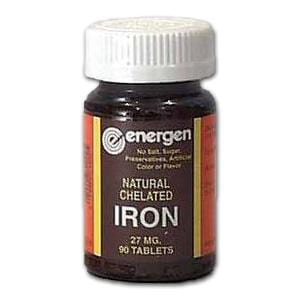 Energen Iron Chelate - 90 tablets