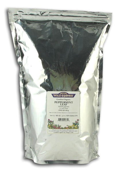 Oregon's Wild Harvest Peppermint Leaves Organic - 1 lb.