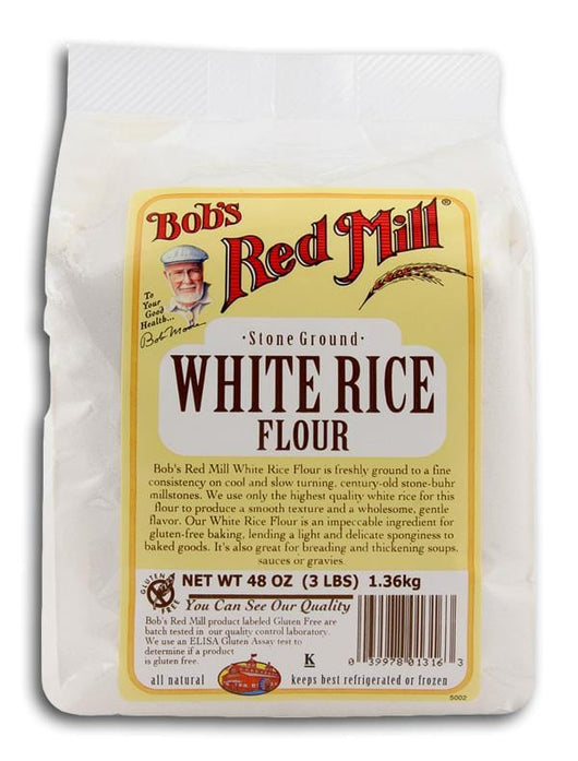 Bob's Red Mill White Rice Flour Stone Ground - 48 ozs.