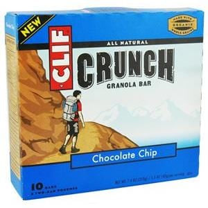 Clif Bar Chocolate Chip Crunch Granola Bars - 7.4 ozs.