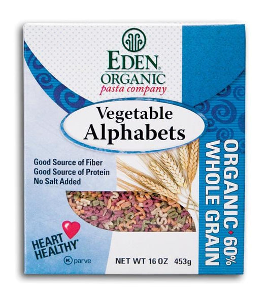 Eden Foods Vegetable Alphabets Organic - 1 lb.