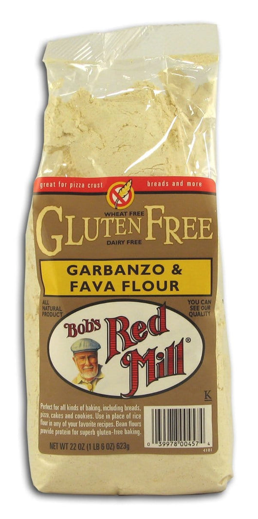 Bob's Red Mill Garbanzo & Fava Flour - 4 x 22 ozs.