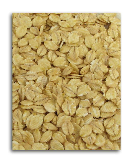 Montana Milling Barley Flakes Rolled Organic - 25 lbs.