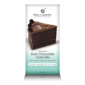 The Pure Pantry Dark Chocolate Cake Mix, Wholegrain, Gluten Free - 21 ozs.