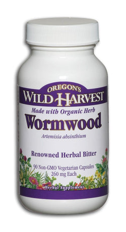 Oregon's Wild Harvest Wormwood 260 mg Organic - 90 veg caps
