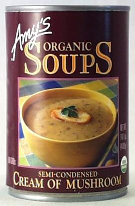 Amy's Cream of Mushroom Soup Organic - 14.1 ozs.