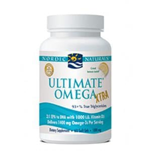 Nordic Naturals Ultimate Omega Xtra - 60 softgels