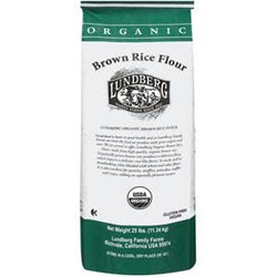 Lundberg Rice Flour, Brown, Organic - 25 lbs.