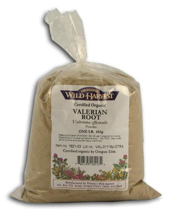 Oregon's Wild Harvest Valerian Root Powder Organic - 1 lb.