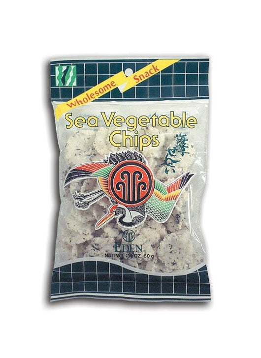 Eden Foods Sea Vegetable Chips - 20 x 2.1 ozs.